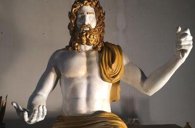 В США напечатали на 3D-принтере копию статуи Зевса, бывшей одним из Чудес света