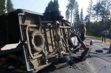 В России разбился автобус с подростками-футболистами: есть жертвы