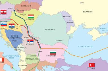 Россия и Болгария вернулись к идее строительства газопровода в обход Украины