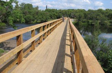 В России построили самый длинный деревянный мост
