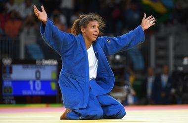 Рафаэла Силва принесла Бразилии первую золотую медаль домашней Олимпиады-2016