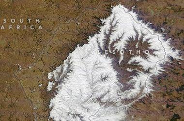 На Африку обрушился сильнейший за 20 лет снегопад: погибли люди
