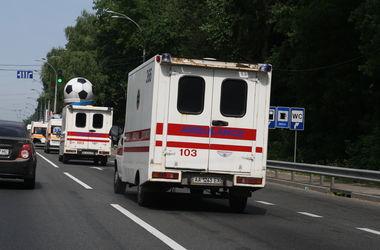 В Киеве авто наехало на мальчика посреди улицы