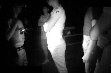 Во Львове агрессивная компания напала на полицейских