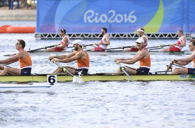 Украинская мужская четверка по академической гребле заняла шестое место на Олимпиаде-2016