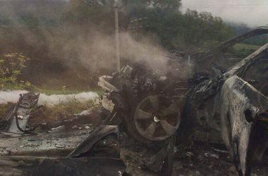 Двойная автокатастрофа в Львовской области: есть погибшие и раненные