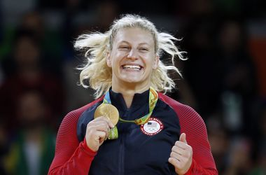 Американская дзюдоистка Кайла Харрисон стала двукратной олимпийской чемпионкой