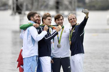 Еще четыре комплекта наград в академической гребле разыграли на Олимпаде-2016