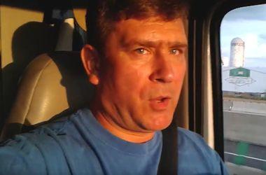 Поющий украинский дальнобойщик из США записал хит о