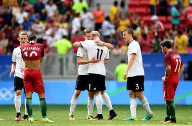 Сборная Германии в четвертьфинале Олимпиады-2016 разгромила Португалию 4:0