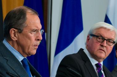 Лавров и Штайнмайер обсудят ситуацию в Крыму