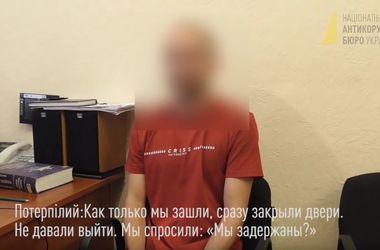 Били в челюсть и шею: НАБУ обнародовала видео показаний похищенных ГПУ сотрудников