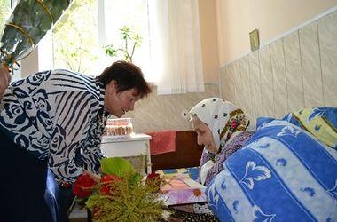Жительница Винницкой области отметила столетний юбилей