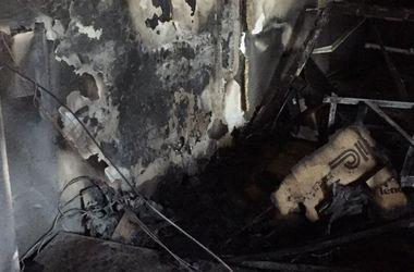 В Киеве сгорел офис