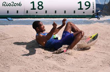 Американец Тэйлор показал лучший результат в тройном прыжке на Олимпиаде-2016