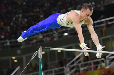 Олимпиада-2016: Олег Верняев в упражнении на перекладине занял последнее место