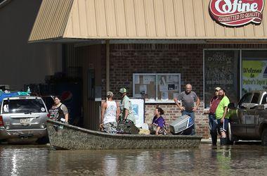 Жертвами наводнения в Луизиане стали 10 человек