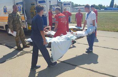 В Одессу прибыл борт с ранеными