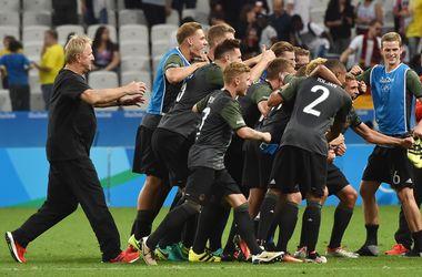 Сборная Германии вышла в финал олимпийского футбольного турнира