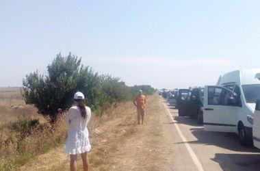 Россияне массово покидают Крым