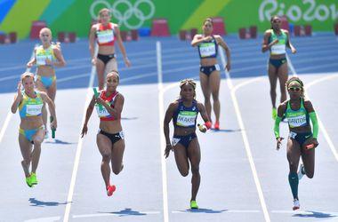 Украинки вышли в финал главной легкоатлетической эстафеты на Олимпиаде-2016
