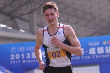 Павел Тимощенко идет пятым после первого этапа современного пятиборья на Олимпаде-2016