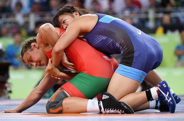 Японка стала олимпийской чемпионкой в борьбе в категории до 63 кг