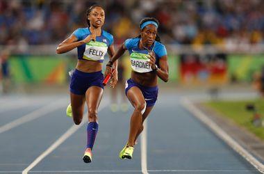 Сборная США со второй попытки вышла в финал эстафеты 4x100 метров на Олимпиаде-2016