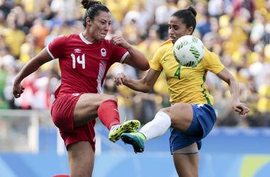 Бразильянки не смогли завоевать медаль олимпийского футбольного турнира