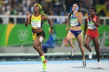 Украинки не смогли угнаться за американками в эстафете 4х100 метров на Олимпиаде