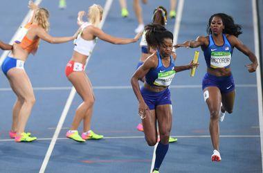 Олимпиада-2016: украинки с третьим временем пробились в финал в эстафете 4х400 метров
