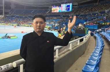 На Олимпиаде в Рио нашли двойника Ким Чен Ына
