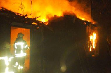Под Киевом дотла сгорел частный дом