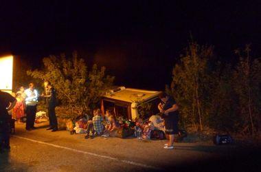 Появились фото серьезного ДТП с паломниками под Запорожьем