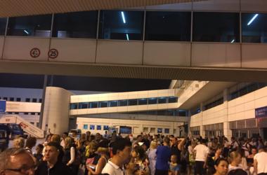 В аэропорту Антальи вспыхнул пожар