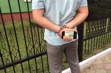 В Луцке следователя полиции задержали на взятке