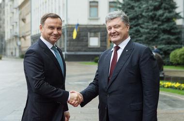 Порошенко и Дуда приняли совместную декларацию