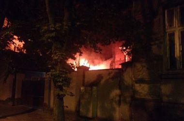 Пожар в шикарном львовском особняке устроил внук погибшего