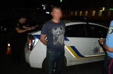 В Киеве поймали угонщика-рецидивиста