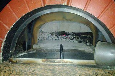 В Киеве горел ресторан