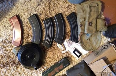 На Волыни изъяли оружие и боеприпасы с Донбасса