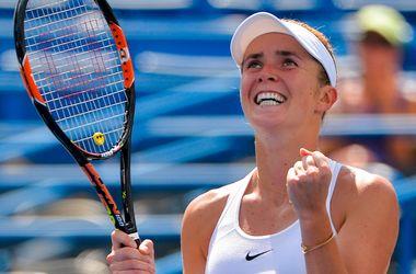 Элина Свитолина вышла в финал турнира в Нью-Хейвене