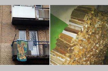 Жители Донбасса устанавливают в квартирах буржуйки и запасаются дровами