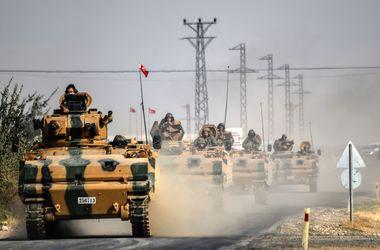 Турецкий танк попал под обстрел на западе Сирии