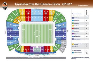 """Началась продажа билетов на домашние матчи """"Шахтера"""" в Лиге Европы"""