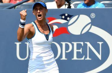 Леся Цуренко впервые в карьере вышла в третий раунд US Open