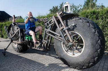 Как выглядит самый тяжелый велосипед в мире