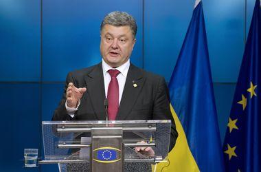Украина делает все возможное, чтобы вернуть Крым и Донбасс – Порошенко