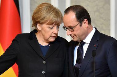 """Олланд и Меркель озвучили свою позицию по Донбассу и """"минскому формату"""""""