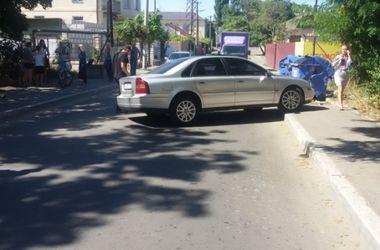 1 сентября в Одессе иномарка сбила двух школьников